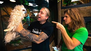 I'M GETTING A SLOTH!! LORI'S MAD AT ME!! | BRIAN BARCZYK