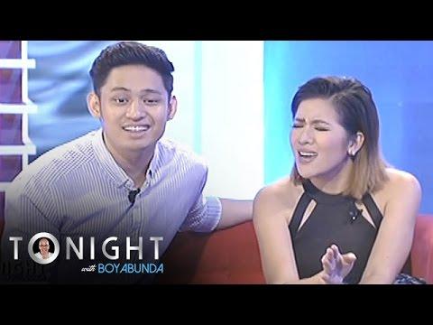 """TWBA: Michael and Angeline sing """"Parang Tayo, Pero Hindi"""""""