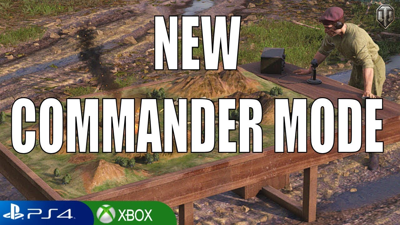 A look at the new COMMANDER MODE gameplay - World of Tanks Console