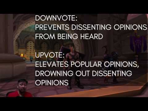 No more downvoting posts on the WoW forums! But do we care?