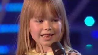 BGT FINAL - Connie Talbot high quality video/sound
