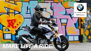The BMW G 310 R meets ATWYLD