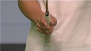 Badminton : Proper Racket Grip in Badminton