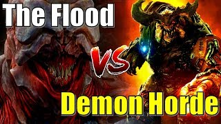 DOOM Demons take on the Flood from Halo Ft. Hidden Xperia   Who would emerge the ultimate victor?