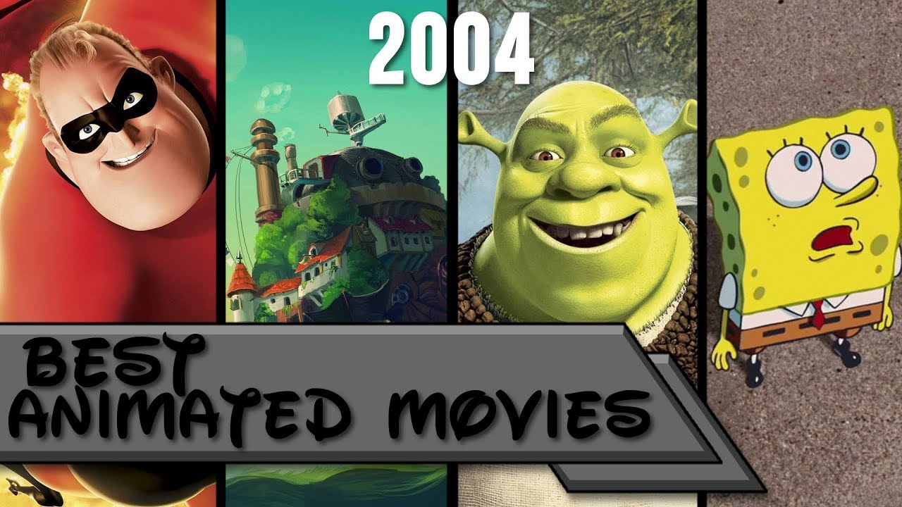 Top 10  Best Animated Movies Of 2004  - Youtube-8710