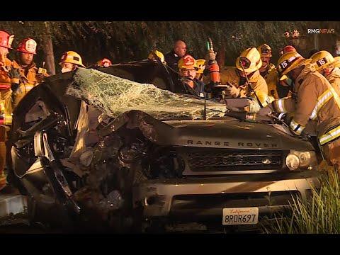 Nov 12, 2020 - Range Rover Fatal Crash on Figueroa in Exposition Park