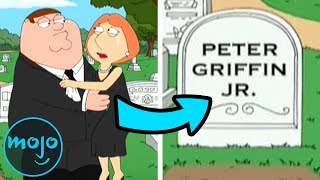 Top 10 Darkest Moments On Family Guy