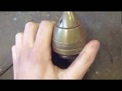 How to clean a WW1 artillery shell fuse- and any other brass!