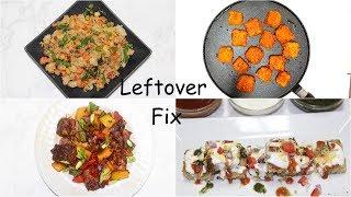 Leftover Indian Food Fix Khaman Dhokla Handvo Idli Video Recipes | Bhavna