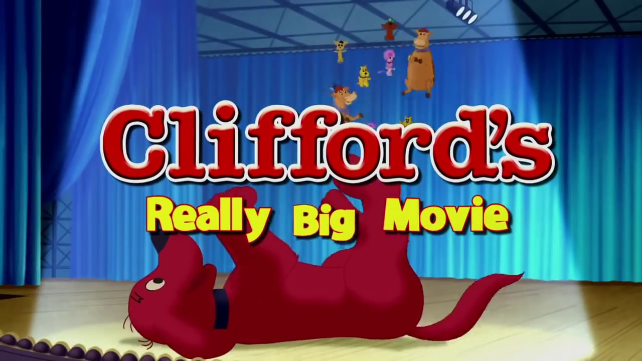 Clifford El Gran Perro Rojo La pelicula Trailer en Ingles con