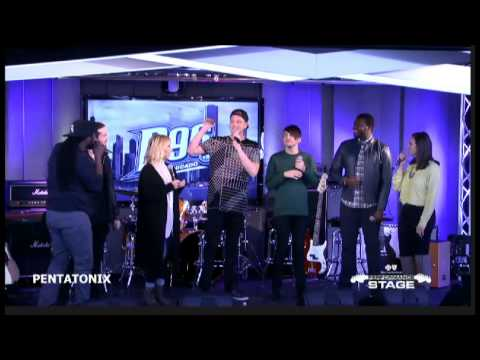Pentatonix Avi Kaplan lowest chest note, and Scott, Mitch, Kirstie and Kevin show highest notes