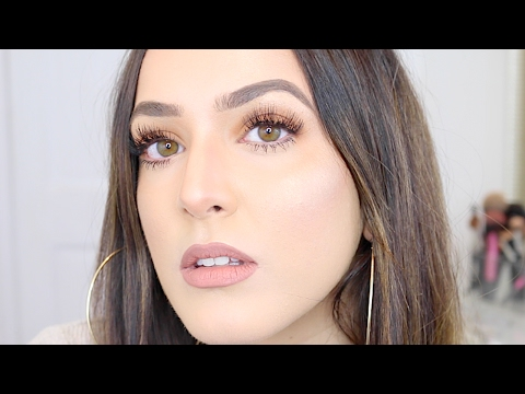 CHATTY GRWM: HOW I COVER MY ACNE SCARS & A SOFT GLAM LASHY LOOK | ThePersianbabe