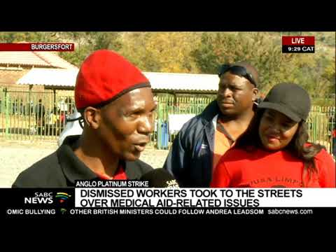 Anglo Platinum Strike | Mine Dismisses More Than 600 Workers For Going On Unprotected Strike
