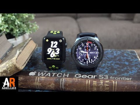 APPLE WATCH SERIES 2 NIKE VS SAMSUNG GALAXY GEAR S3