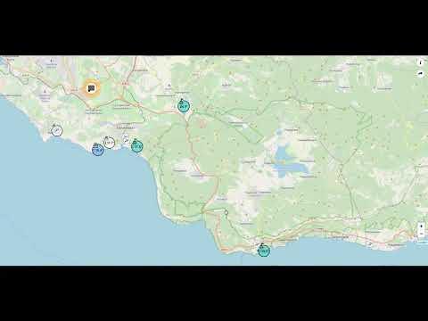 Температура воды в Черном море сейчас. Онлайн карта по всему Крыму