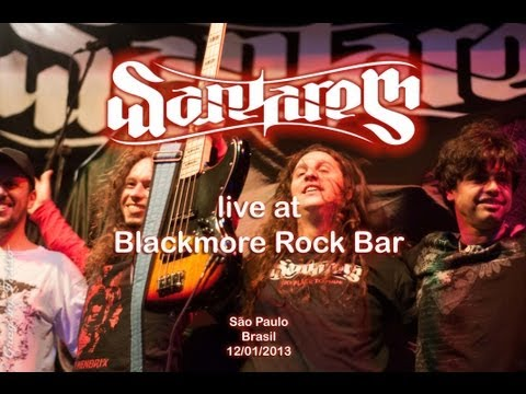 Santarem - Live at Blackmore Rock Bar (full show) - 12/01/2013