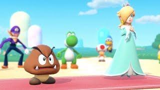 Super Mario Party - Tantalizing Tower Toys (Goomba/Rosalina vs Luigi/Daisy) | MarioGamers