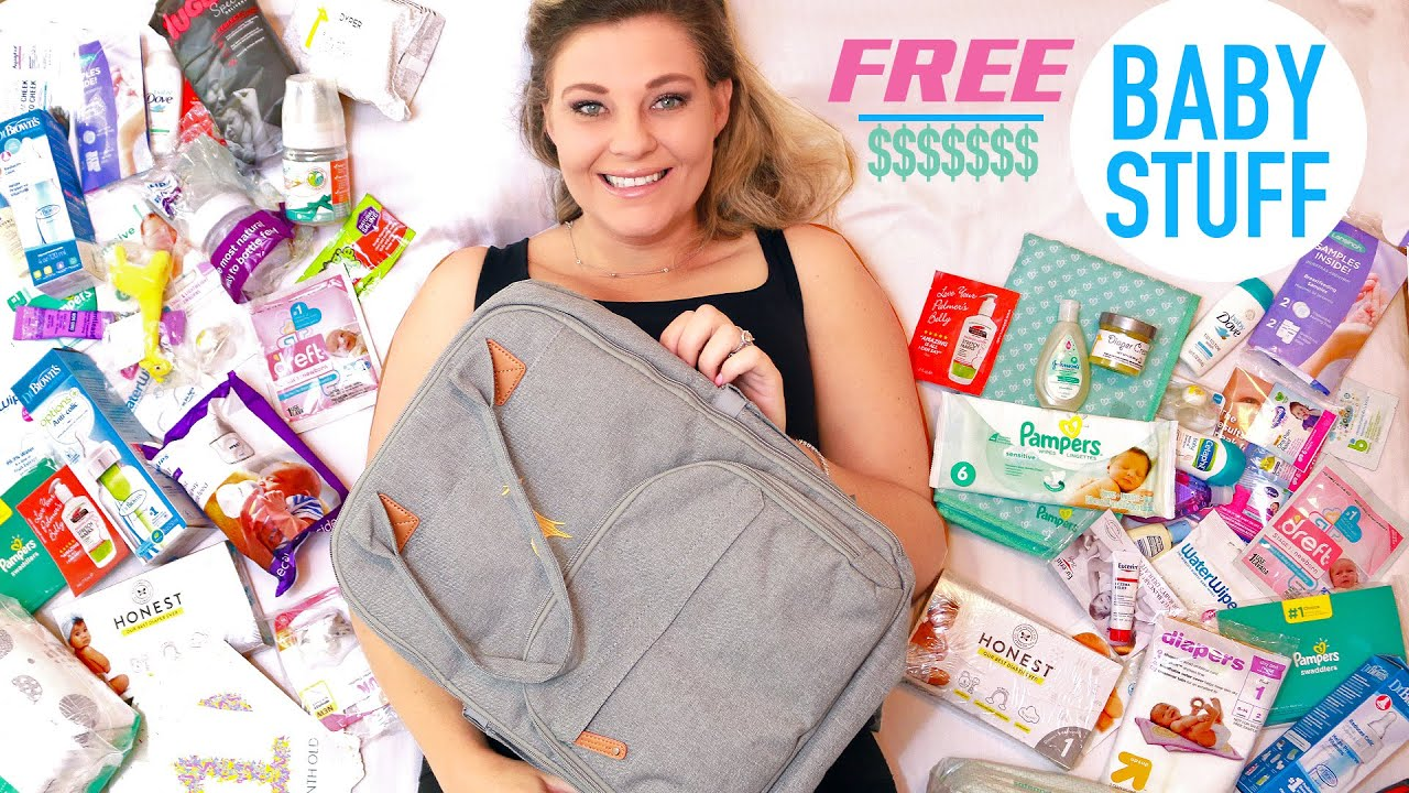 HOW TO GET FREE BABY STUFF in 2021 🚼 Mama Tips | Baby #6 - YouTube