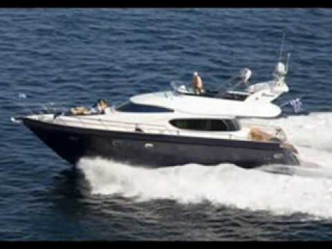 Charter M/Y Azimut 46 in Greece.wmv