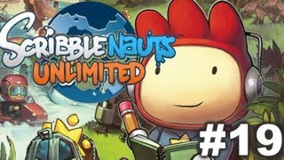 Scribblenauts Unlimited - Ep19 - Camelcase Oasis, Vowelcano