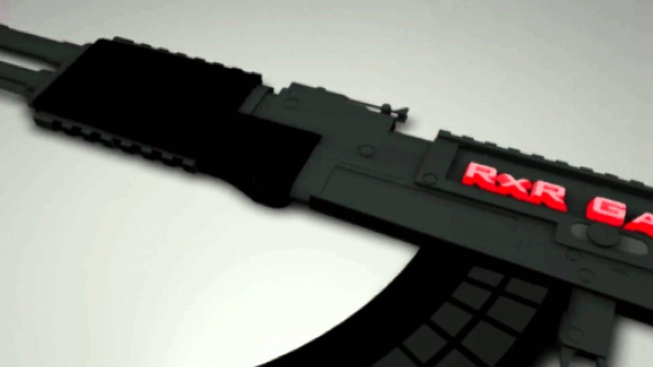 AK 47 Cinema 4D Intro Template FREE TEMPLATE