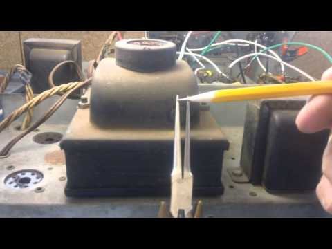 Philco model 37-2670 repair and restoration (Part 20 of 34).