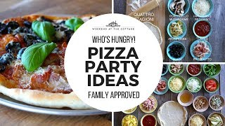 Awesome PIZZA PARTY IDEAS!