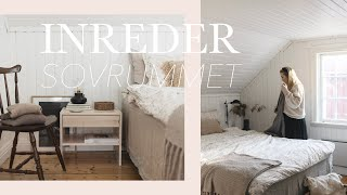 Decorating our Scandinavian cottage bedroom