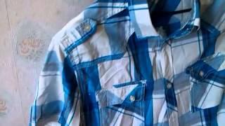 Тимофей снимает рубашку