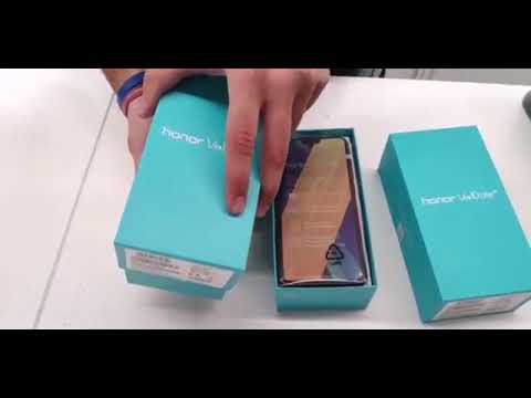 Huawei Honor 10 Lite Smartphone Unboxing And First Look Youtube