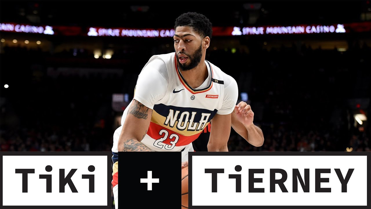 Anthony Davis Request Trade From Pelicans | Tiki + Tierney