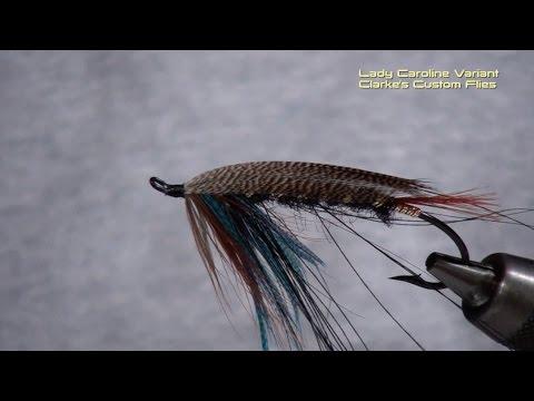 Atlantic Salmon Fly - the Lady Caroline - a Variation