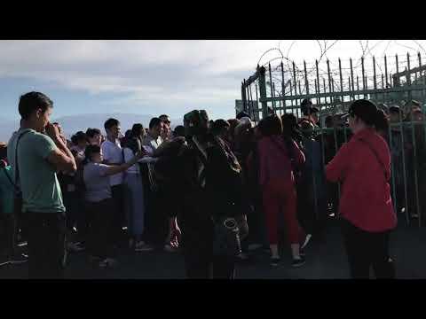 #Хоргос.                      Беспредел на казахско-китайской границе