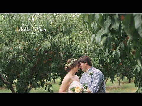 Ashlee & Tom // Georgia Peach Orchard Wedding — Hampton Road Studios