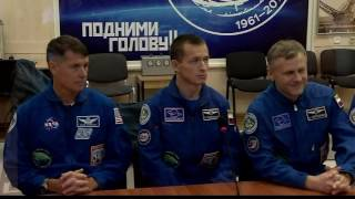 Expedition 49-50 Crew Prepares for Launch in Kazakhstan