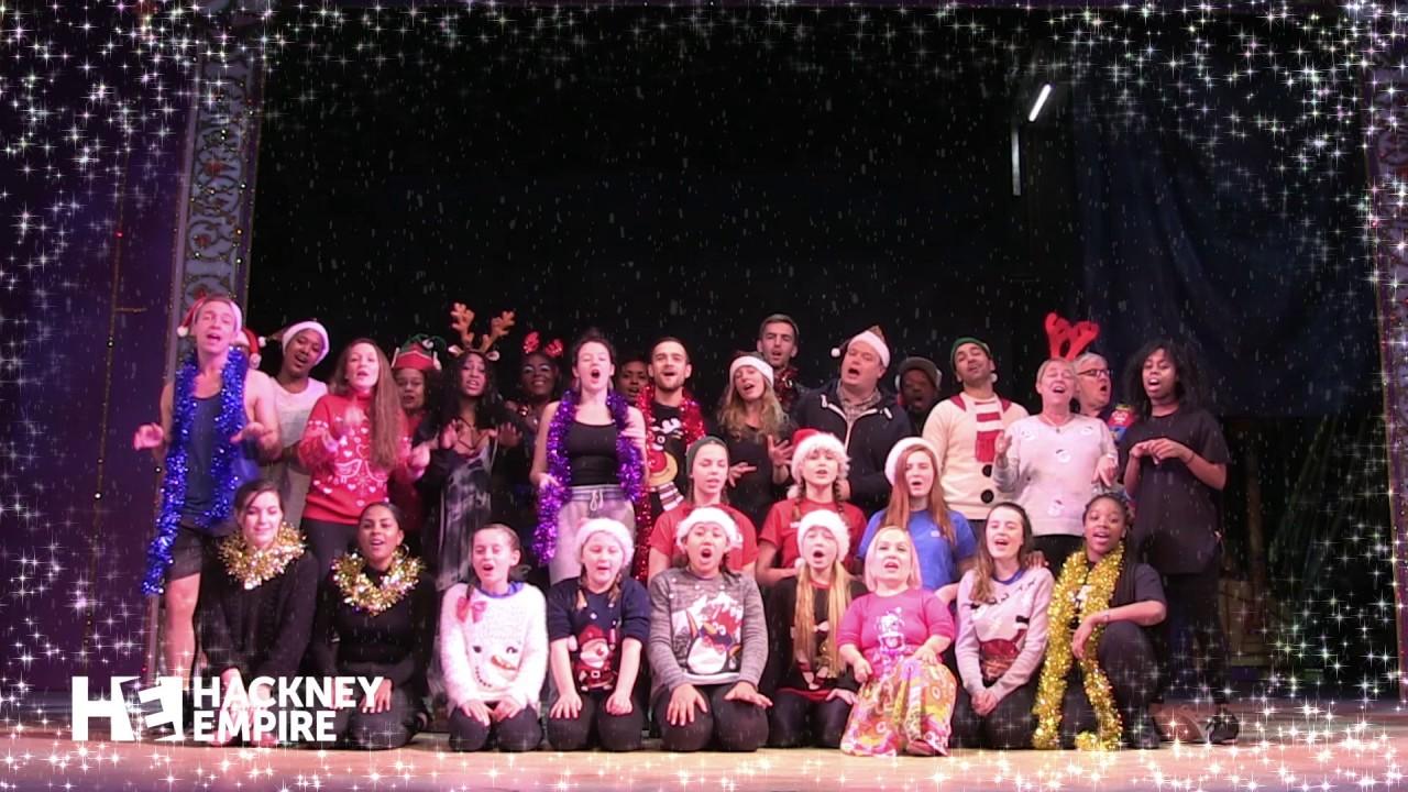 Sleeping Beauty panto cast sing Jingle Bells!