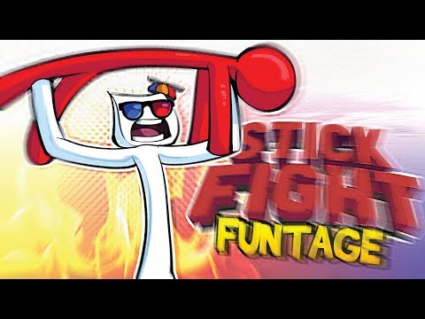Stick Fight FUNTAGE! - How is that POSSIBLE?!