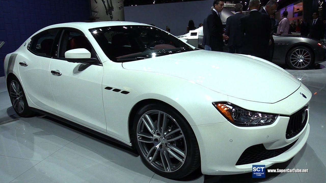 2017 Maserati Ghibli S Exterior And Interior Walkaround 2016 La Auto Show You