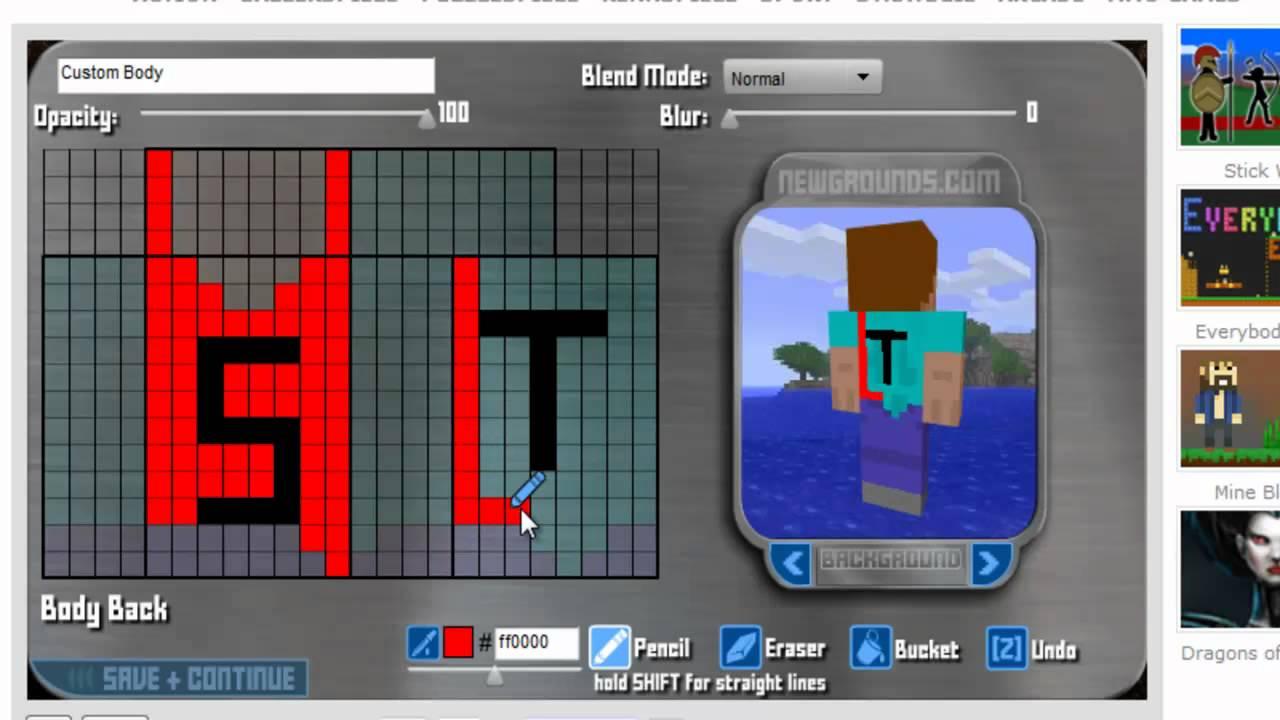 Minecraft Eigenen Skin Erstellen Ganz Einfach YouTube - Skins fur minecraft machen