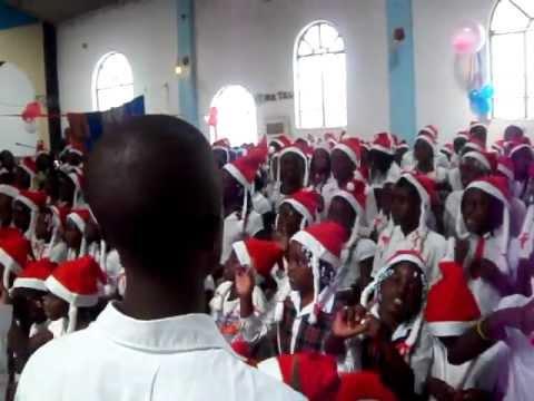Louvor do Grupo Infantil - IECA -Sede Missão - Huambo