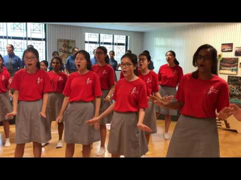 'Because it's Singapore' NDP 2017 Theme Song, Cedar Girls' Choir