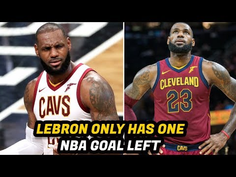 Thumbnail: The One Thing LeBron James Wants to do Before His NBA Career is Over