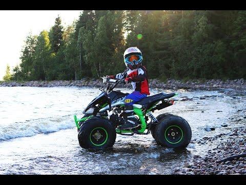 Квадроциклы детские или забава для взрослых? Видео, обзоры и покатушки