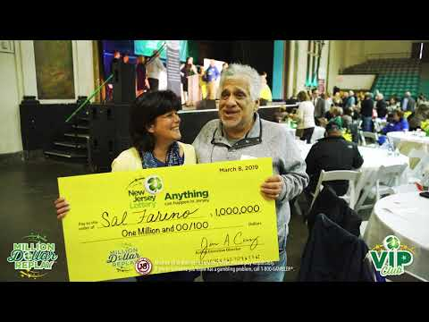 NJ Lottery | Million Dollar Replay