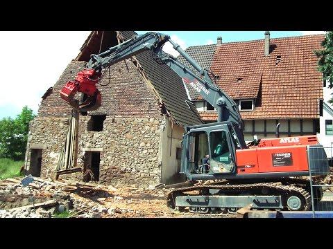 Abbruch Haus Kropff - Privatdokumentation von H. Köster