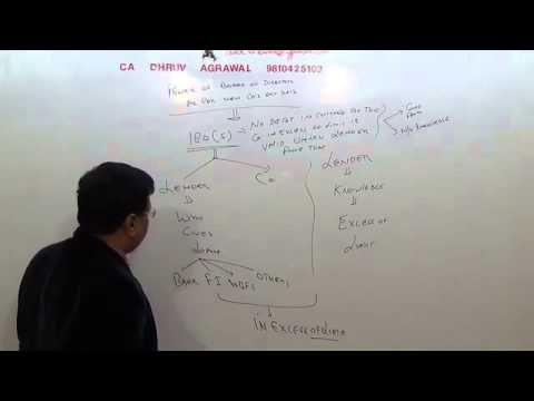 Lecture #10 Loans and advances companies act 2013 SEC  179 188NEW