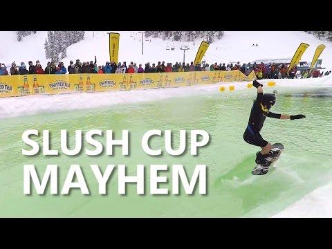 Slush Cup Mayhem At The World Ski & Snowboard Festival