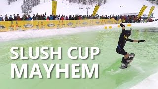 Slush Cup Mayhem at the World Ski & Snowboard Festival