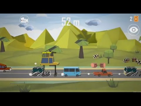 LIFT CAR:  Pumping Smashy race (Android) - gameplay.