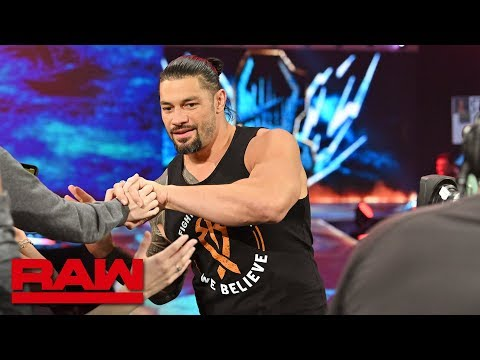 Roman Reigns Returns To WWE: Raw, Feb. 25, 2019